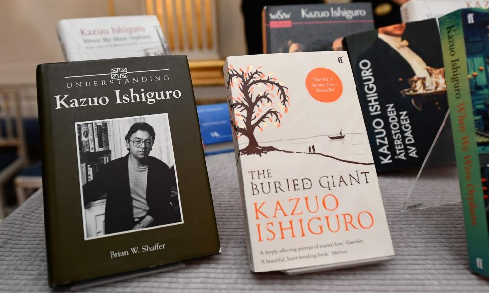kreativa.com- Kazuo Ishiguro, Peraih Nobel Sastra 2017