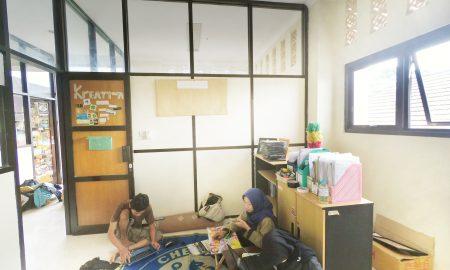Ruangan Kreativa setelah dibersihkan