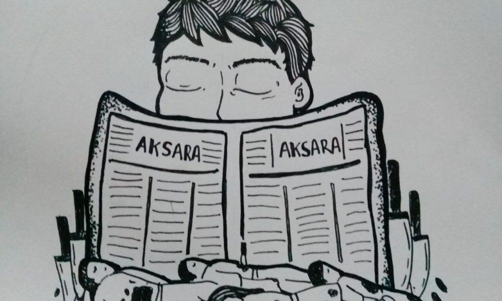 Ilustrasi cerpen penjual koran